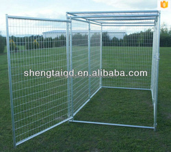 factory sale lowes price galvanized steel the dog kennels