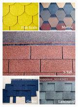 las tejas de asfalto de los precios