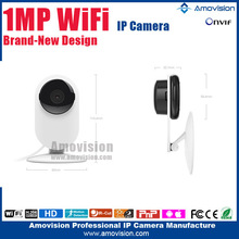 Mini Wireless 3.6mm Lens IP Camera Ant QF605 Support WIFI/ONVIF Two Way Audio with Motion Detection Support E-mail Alarm