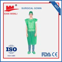 Polyethylene sterile disposable latest design formal evening gown