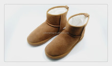 hot sale women warm leather winter snow boot