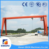 China Top Crane MH Model Single Girder Gantry Crane Design Calculations