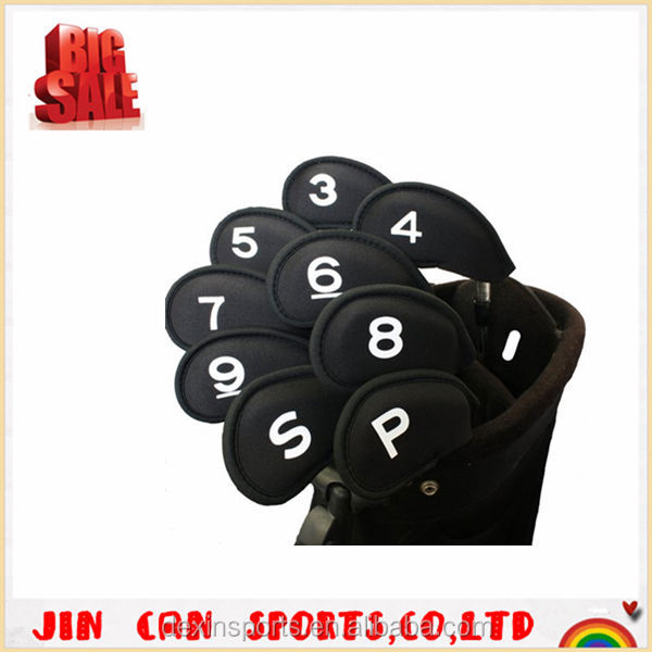 2014 Hot selling neoprene golf iron covers