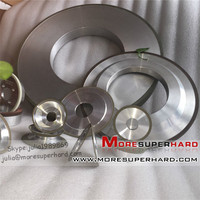 Resin bond diamond wheel for grinding of cobalt-cemented tungsten carbide tools