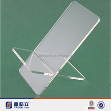 acrylic display stand for cell phone stand, acrylic desktop mobile phone stand