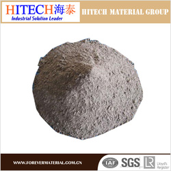 best price zibo hitech high temperature castable refractory cement for ceramic kiln
