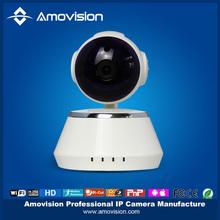 H.264 indoor P/T wifi wireless two audio TF Card slot surveillance ip camera