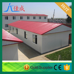 china manufacturers steel construction building prefab house for sale/temperary living