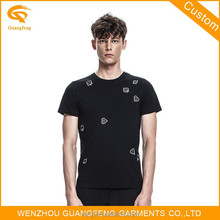 High Quality 100%Cotton Men's Basic Brand T-Shirt Manufacturer