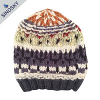 New style very soft Wholesale Cheap Fashion Warm 100% Acrylic Hand Crocheted Hat