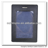 13035A High quality leather badge holder,card set,pass card holder