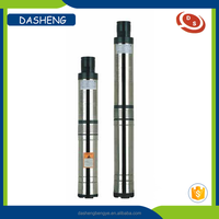 Vertical 1.5 kw deep well water pump 2 inch outlet submersible pump