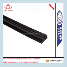 extruded customized rubber door seal boat windshield gasket