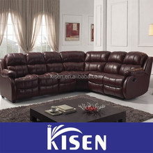 Contemporary furniture with corner leather recliner cheap sofas