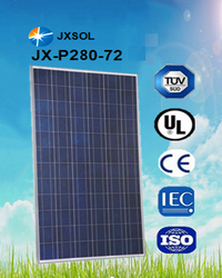 2015 Fourth Season Most Popular and Hot Sale Poly Solar Panel 280w with Attractive Price