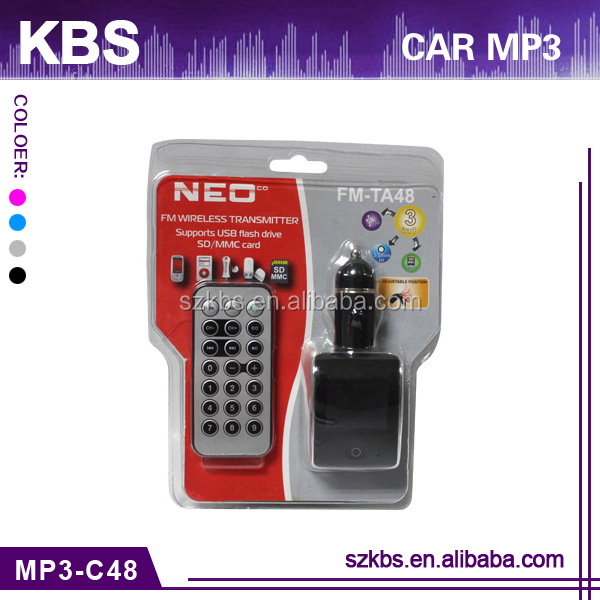 "Car Mp3 Player With 1.4""Large LCD Screen,Beautiful Interface,Line-in Function"
