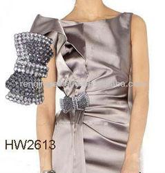 decoation buckles for wedding dress wedding accessoires garment buckle