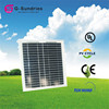 Energy saving high power high quality mono solar panels 10w