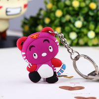 promotional customized soft pvc key chain