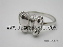 Wholesale Fashion Jewelry, Cute Design Butterfly Ring,925 Sterling Silver Women's Silver Ring For Gift