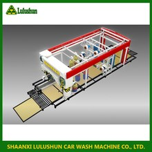 china wholesale merchandise Tunnel Wash System Automatic 380v steam and hot water car washing machine