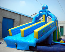 Octopus Jumbo Inflatable Water Slide, Inflatable Water Slides China