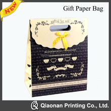 Fashion food packaging Paper gift bag