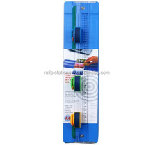 New design 3 in 1 multi functional A4 manual rotary paper cutter trimmer