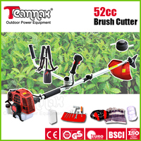 51.7cc spark plug grass cutting machine