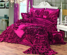 velvet patchwork bedspread romantic and cute