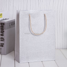 2015 hot sale luxury paper gift bag high end paper shopping bags offset printing