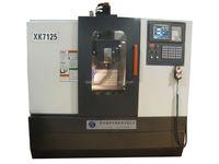 Low cost new universal milling cnc lathe machine XK7125