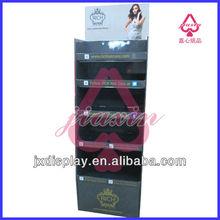 Cosmetic shop design of custom cardboard display rack