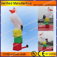 2015 hot selling big inflatable bird model