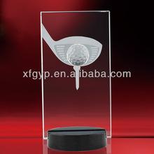 las imágenes de golf trofeo de cristal