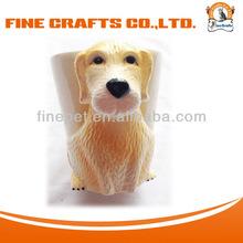 High Quality Golden retriever dog 3D Ceramic Mug Cup