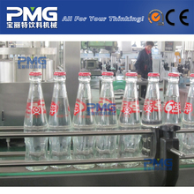 2-in-1 Glass bottle soybean milk / hot / juice filling and crown cap sealing machine