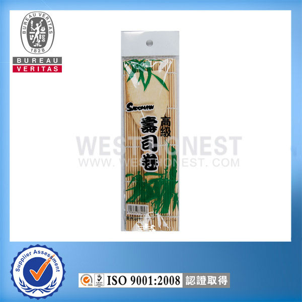Bambu natural quente- venda de sushi roll