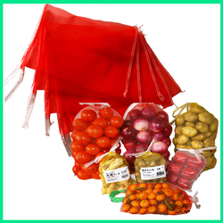 Red,yellow,green,blue 100% HDPE mono mesh bag in china