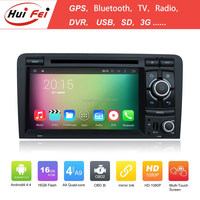 High Quality Support 3G WIFI Gps Audio Car Stereo For Audi A3 2003-2011