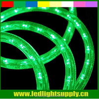 party decoration 2 wire 12/24V green led rope christmas lights