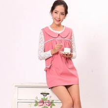 pink and dark color anti radiation (electromagnetic RF shielding) clothes and fabric