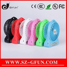 5v dc mini protable travel fan with strong wind good for summer