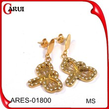 New model earrings stainless steel earring hot new products for 2015 jewelry fashion ear ring