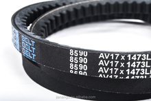Raw edge cogged v-belt teeth belt 17X1473Li