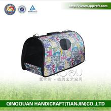 BSCIFactory Hot Sale Pet Carrier Bag / Faux Round Pet Carrier