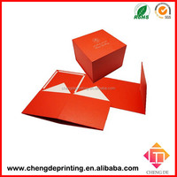 China manufactory paper folding favor box packaging