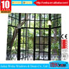 Made in china any color wrought iron door window grill