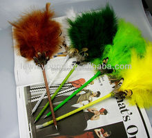Promotional gift feather fluffy ballpen