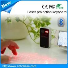 New Generation Laser Projection keyboard Portable Bluetooth Laser Keyboard Mini laser qwerty keyboards